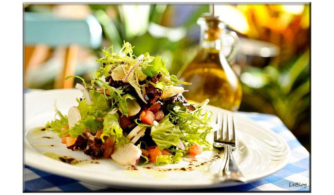 Salada Le Vin, Le Vin, receita Le Vin, receita leve receita de salada, receita light, Marcílio Araújo