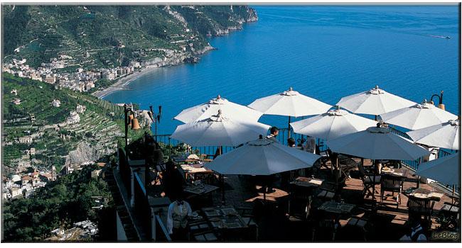 Palazzo Sasso, restaurantes na Italia, Revllo, onde comer em Ravello, restaurantes Palazzo Sasso, Terraza Belvedere, restaurante Terraza Belvedere