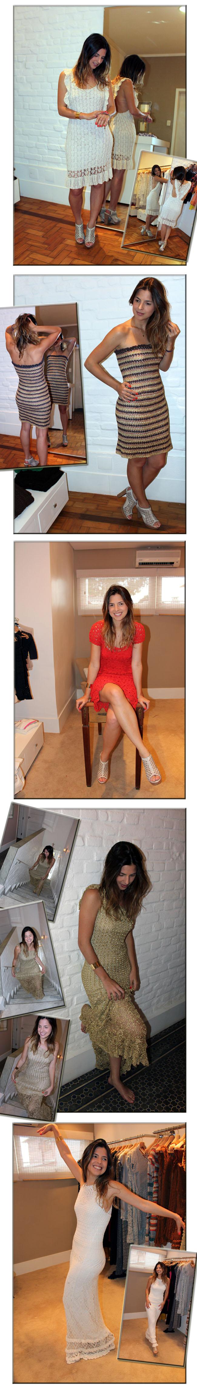 Giovana Crochet, crochet, vestido de crochet, vestido vermelho, vestido dourado, vestido de reveillon, vestido de festa, verão, dicas de presente, dicas de natal, roupa para o natal