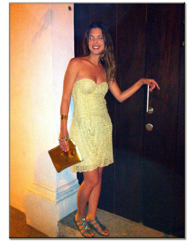 Cartagena, Cartagena de Indias, Cartagena Colombia, dicas de Cartagena, look do dia Leblog, look reveillon, look vestido de crochet, vestido de crochet dourado, Gionava Crochet, Paty Mattos,