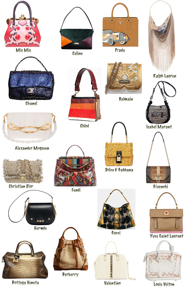 Bolsas must have, it bags, bolsas da estaçao, chanel, balengiaga, isabel marant