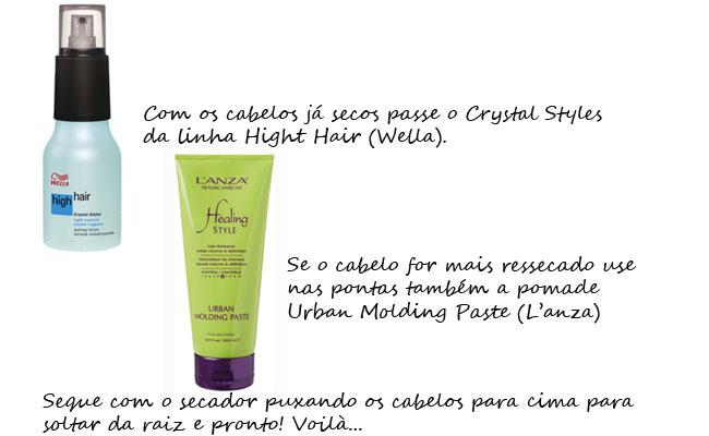 Didier Sé, cabelos soltos, produtos para cabelos, lanza, wella, qg fhits, dicas de beleza, beleza