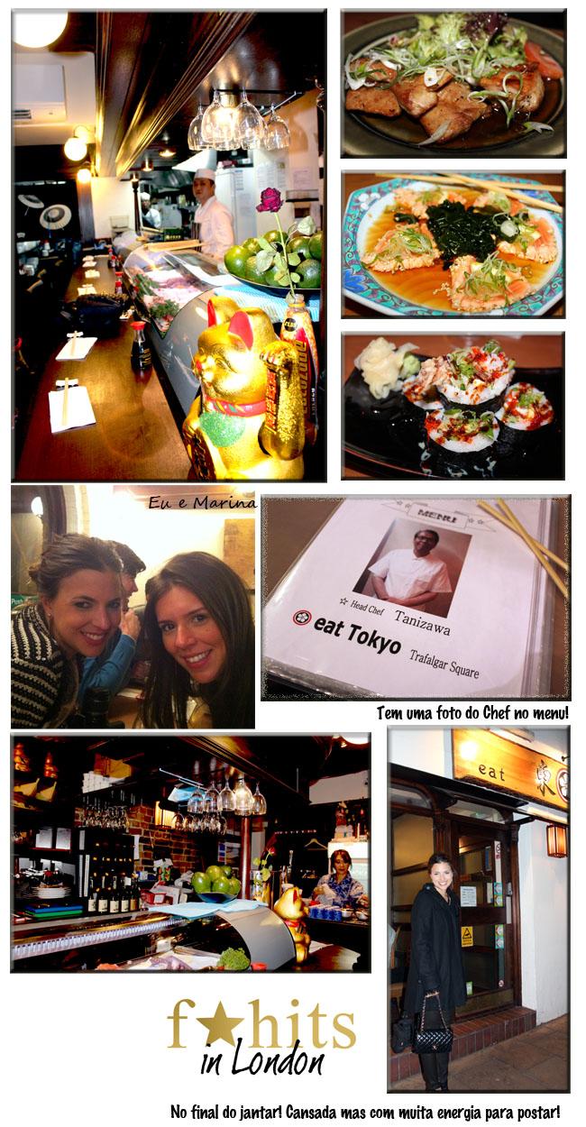 londres, dicas de londres, restaurantes em londres, onde comer em londres, eat tokyo, comer barato em londres restaurante japones em londres, fhits, fhits londres, qg fhits, patricia mattos