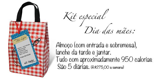 sorteio, All light gourmet, dia das mães, sugestão de presentes, presentes, dieta, receita light, regime,