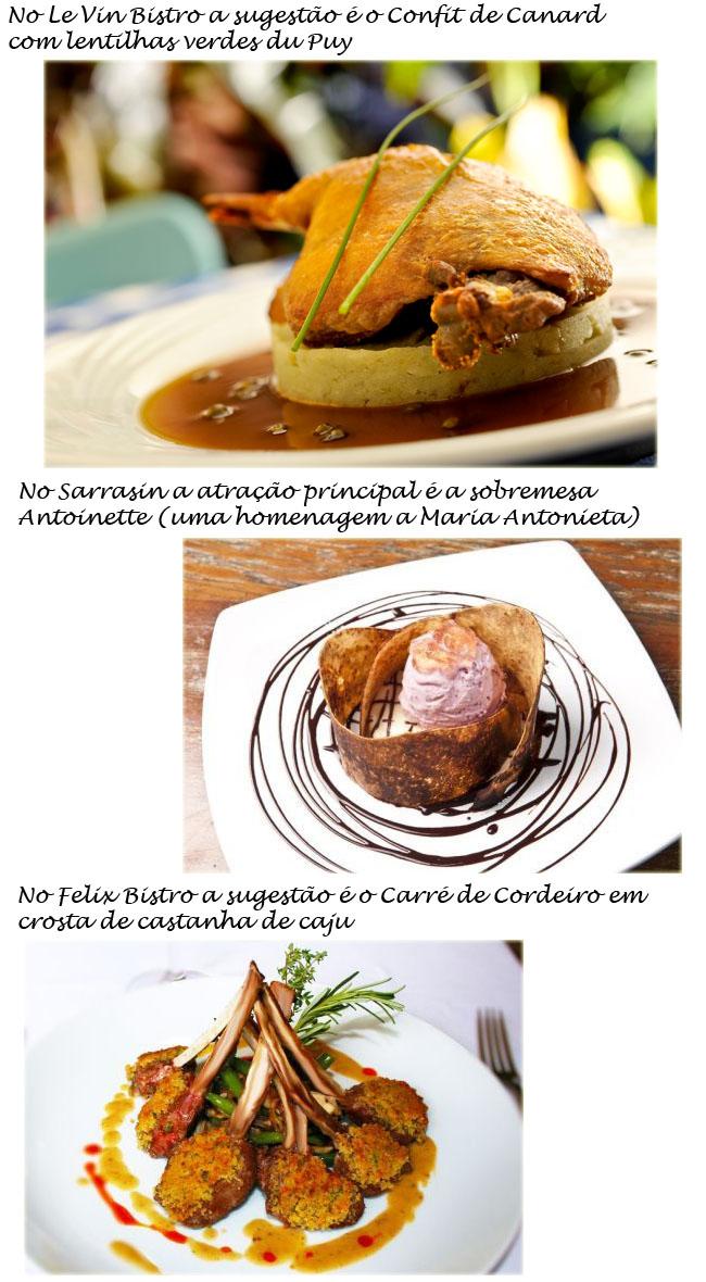 queda da bastilha, confit de canard, menu especial bastilha, le vin sarrasin, felix bistro