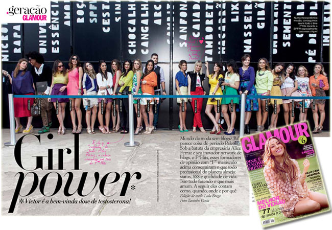 revista glamour, glamour brasil, fhits, blogueiras