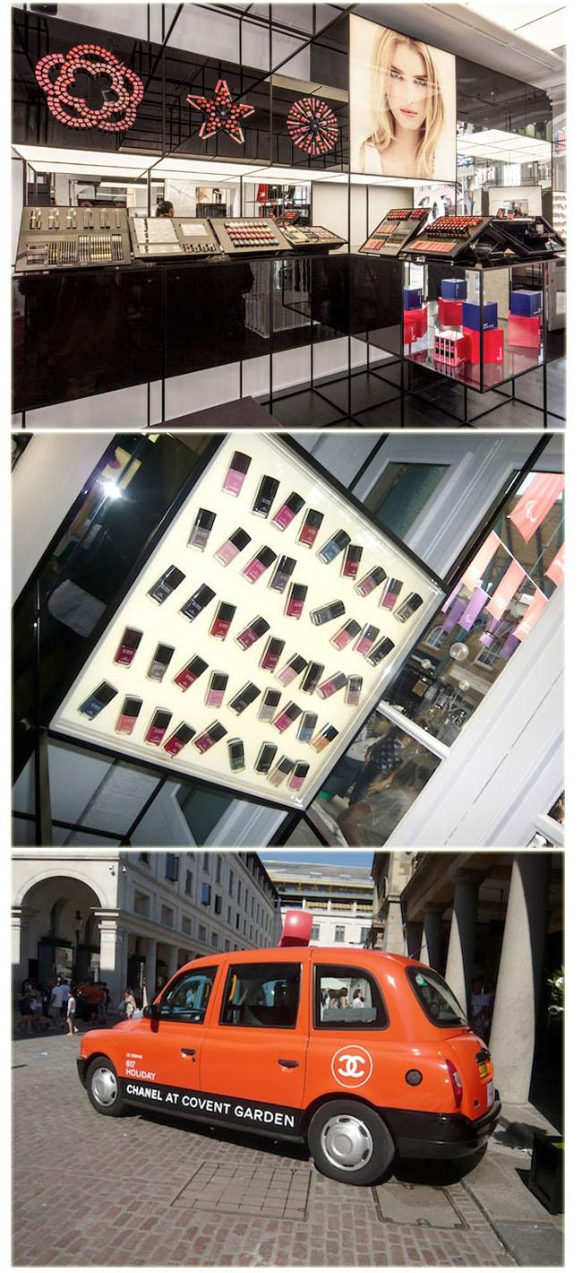 d197a5cd6 Pop Up da Chanel em Covent Garden | LeBlog