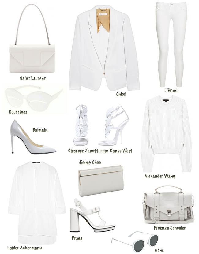 branco, sandália branca, sandália rada, bolsa branca, moda, novidades