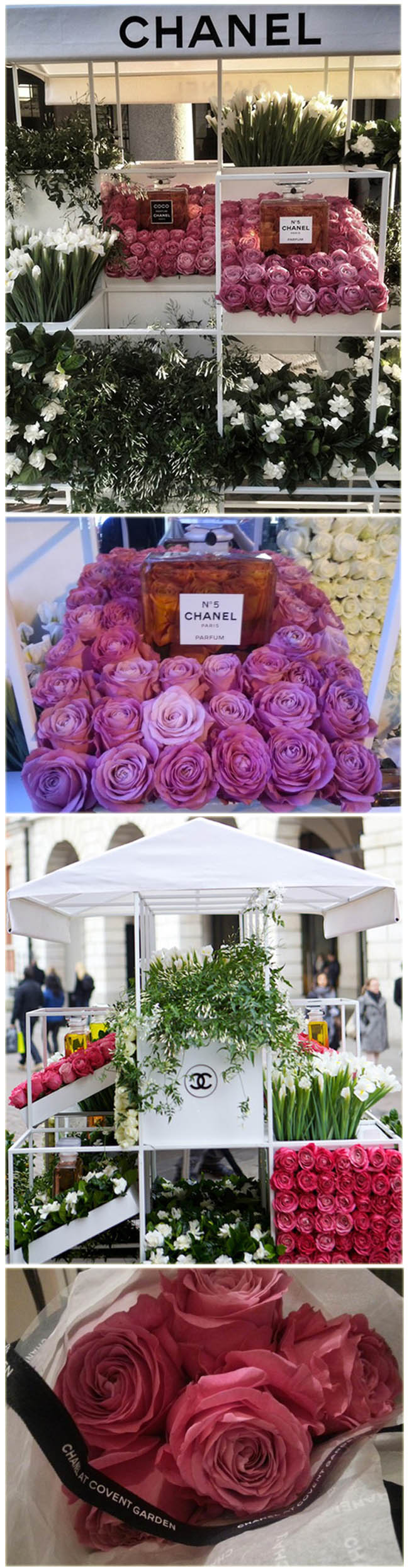 d4f8e0ad3 chanel, chanel dia das maes, pop up store chanel flowers, chanel perfumes,