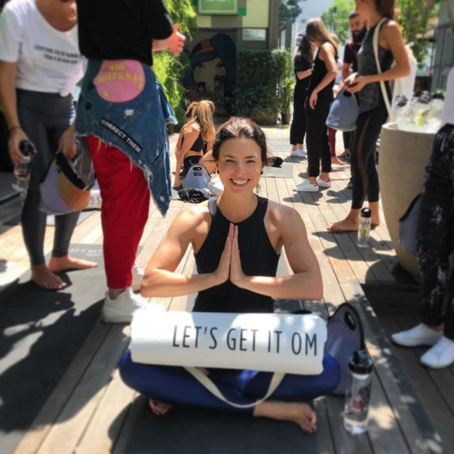 Comeando o dia ZEN com uma aula de ioga nohellip