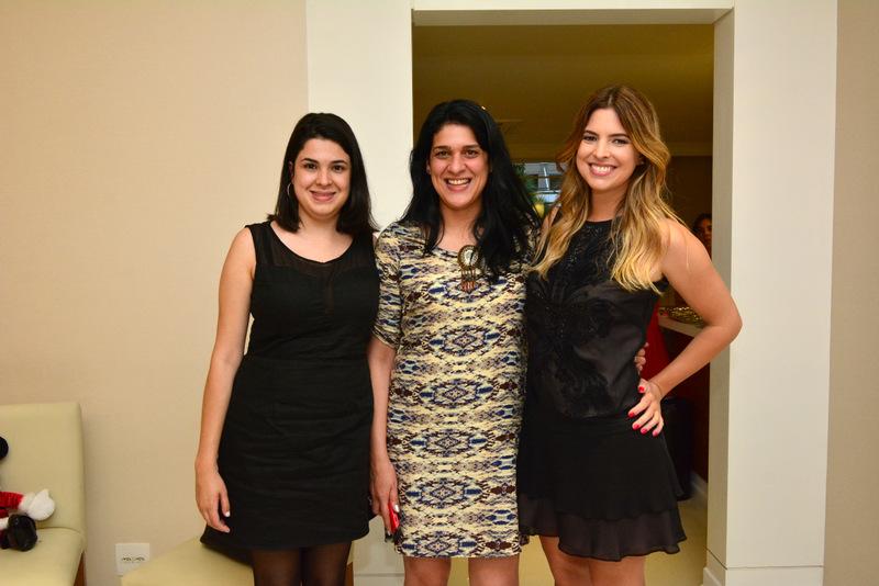Stella Cardoso, Caroline Arnold e Patricia Mattos