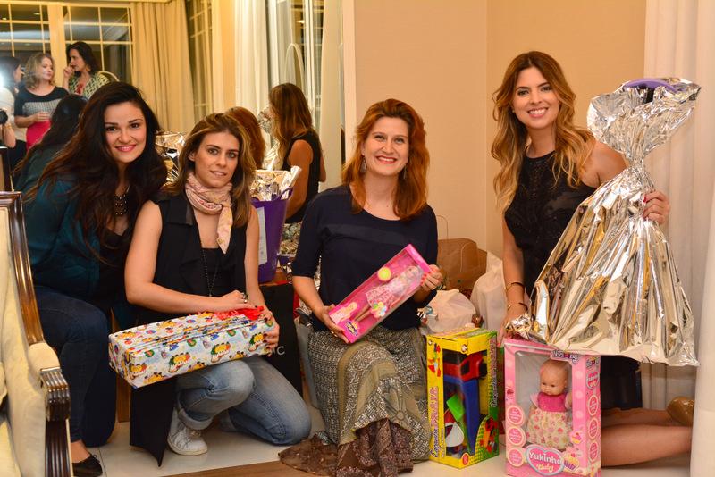 Leticia Capelini, Luiza Karam, Marina Valle e Patricia Mattos