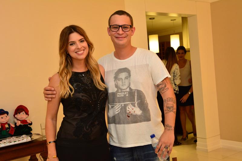 Patricia Mattos e Fred Barroso