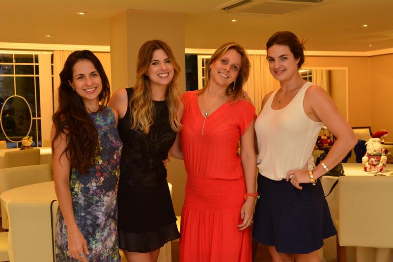 Vivian, Patricia e Daniela Mattos e Paula gallo