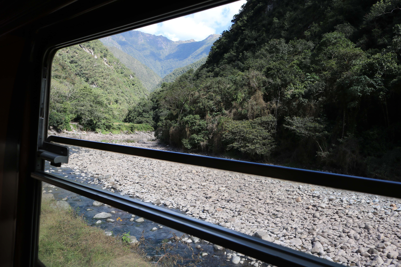vista do trem