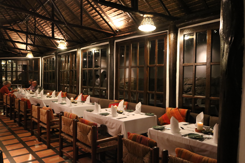 Jantar no Hotel Inkaterra
