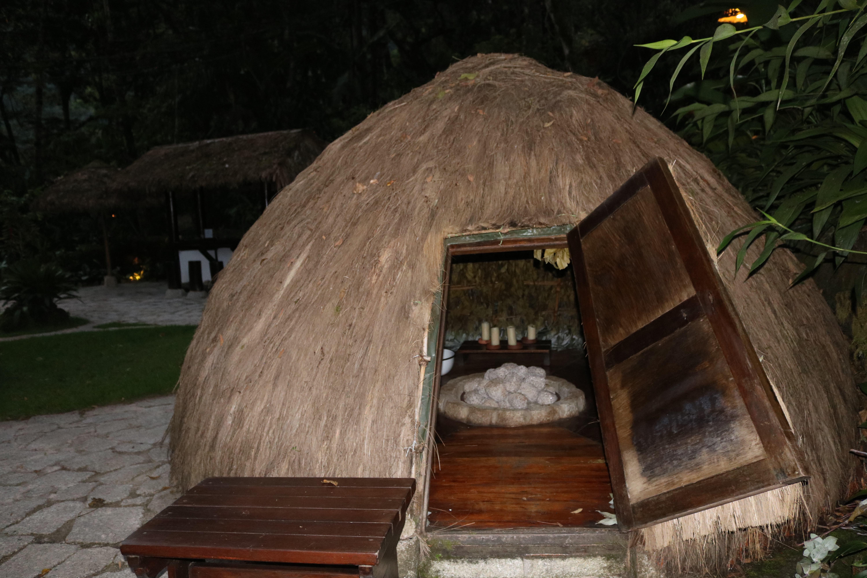 Sauna Oka do Hotel Inkaterra