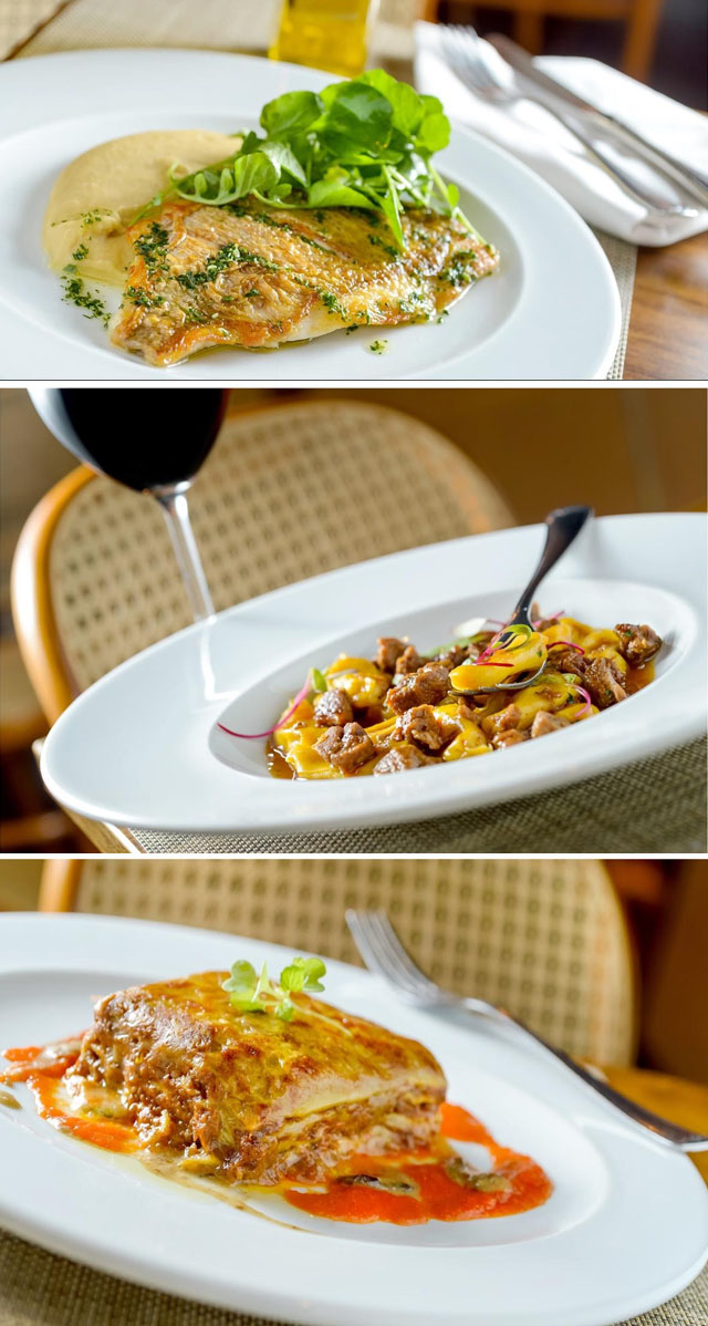 italy novo menu