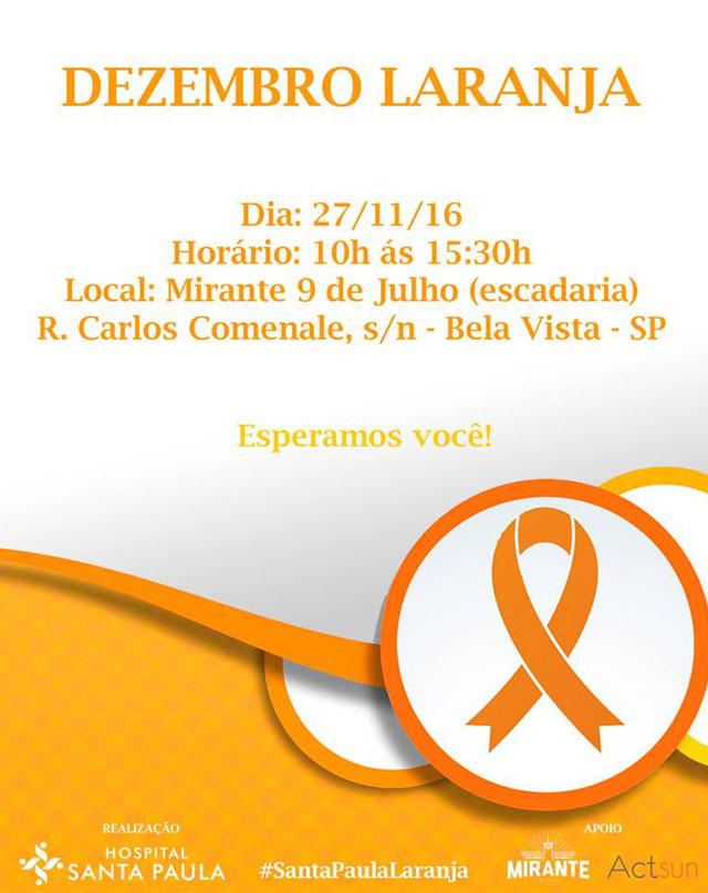 dezembro laranja folder