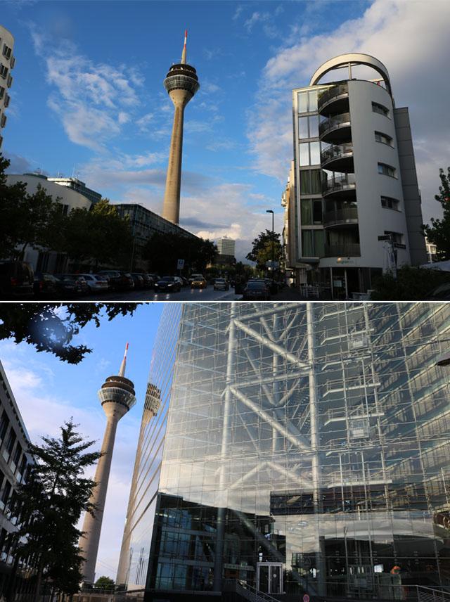 Rhino Tower vista de diferentes ângulos
