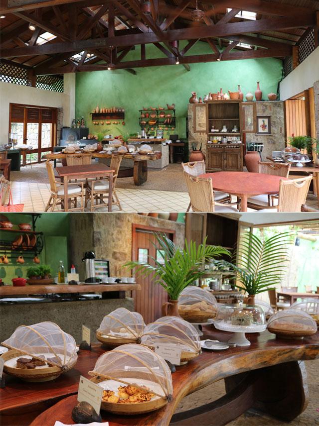 Café da manhã no Txai