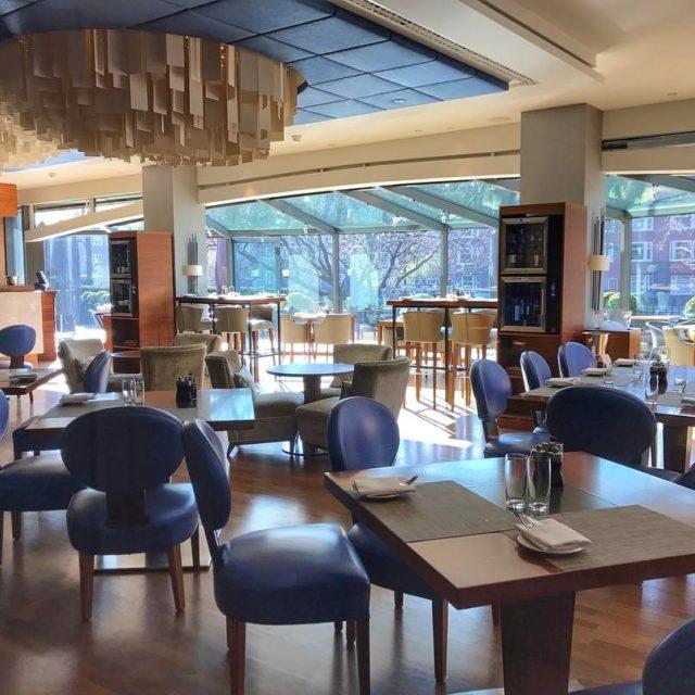 Restaurante Serre no Hotel OKURA em Amsterdam! Lindo e deliciosohellip