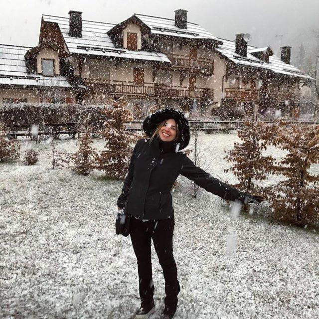 Il neige! Que alegria!!!   serrechevalier neve ski snowboardhellip