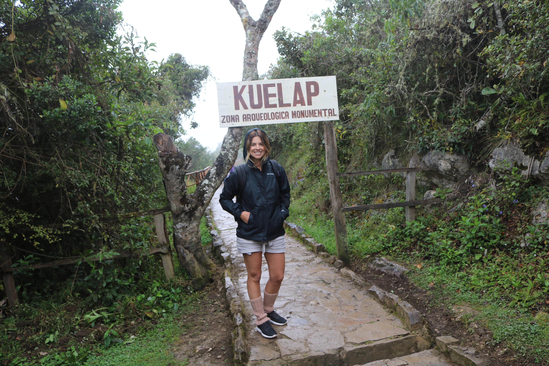 Chegando em Kuelap