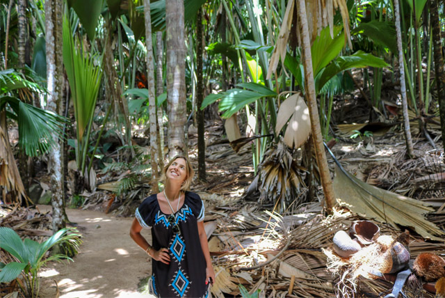 Visita ao Parque Nacional Vallée de Mai