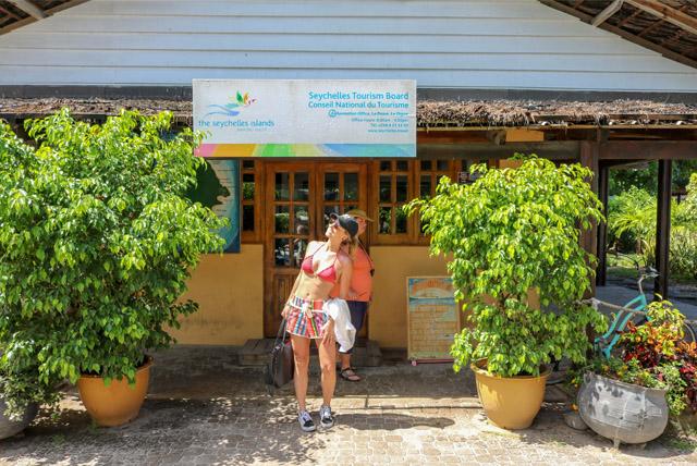 Escritório de turismo de La Digue