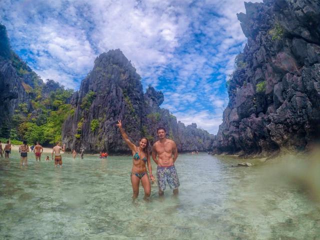 Larissa e Rafael em Hidden Beach