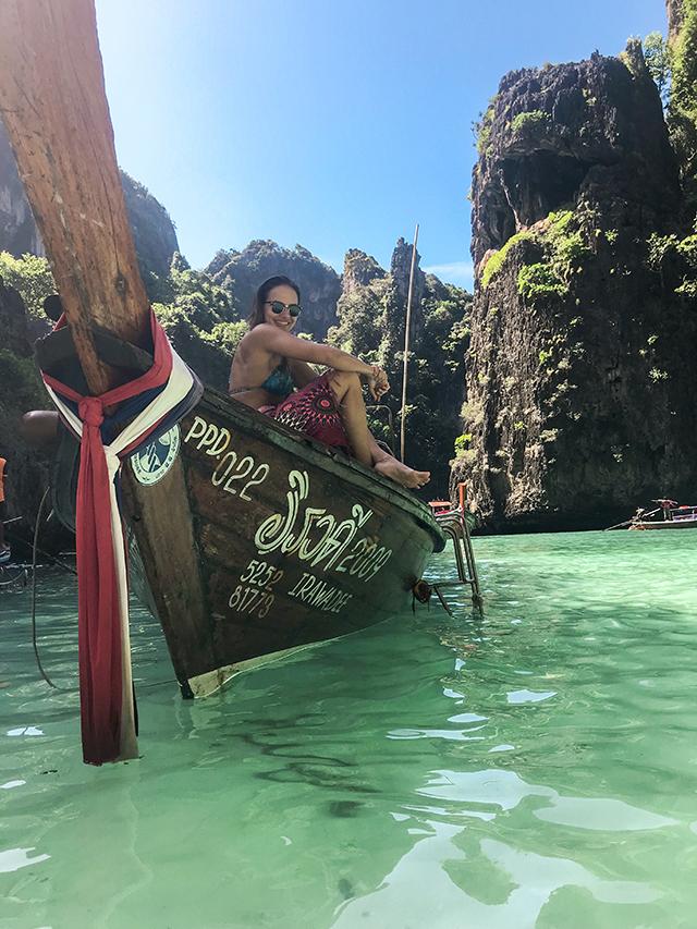 Barco em Koh PhiPhi