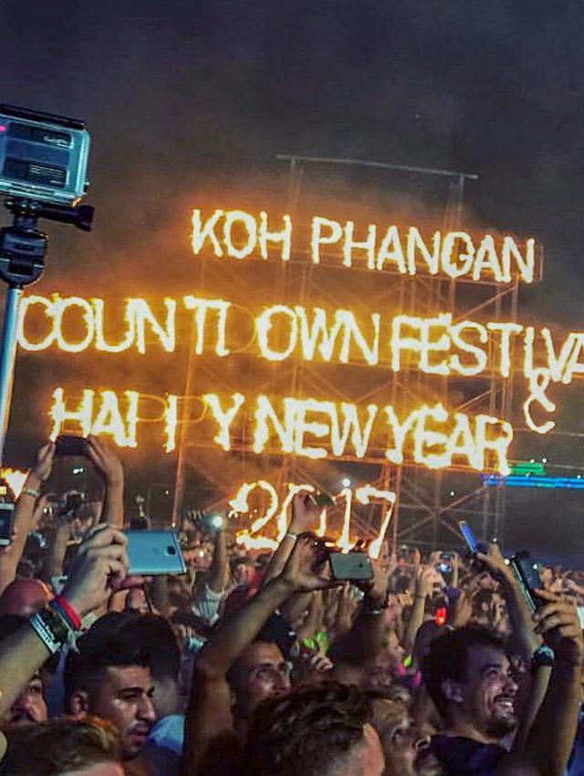 Full Moon Party em Koh Pahangan