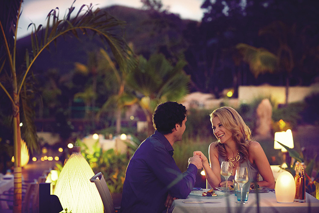 Dinner Curieuse Credito Raffles Seychelles 2