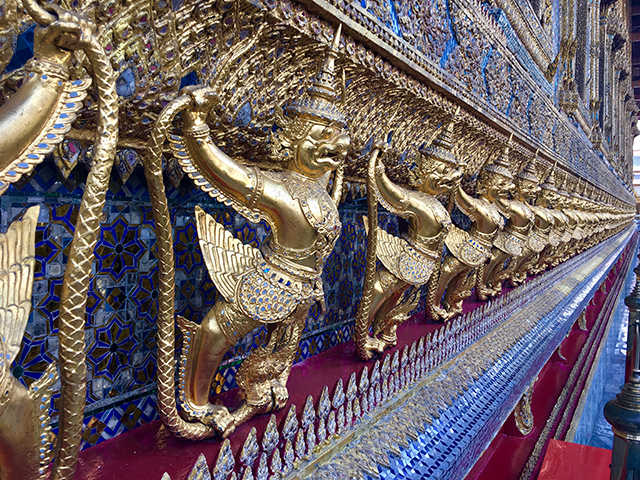 Detalhes no Grand Palace