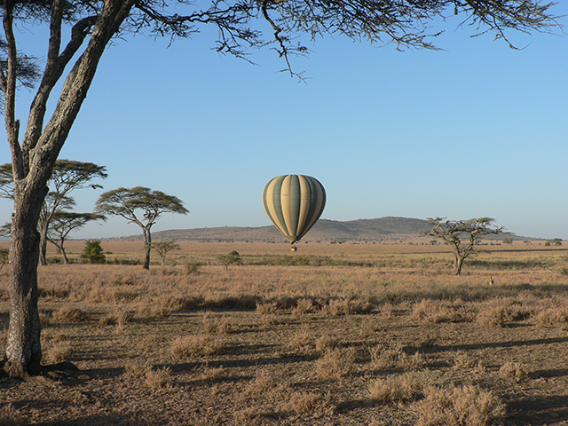 Serengeti National Park - Balloon Safaris - Credito Tanzania Tourism