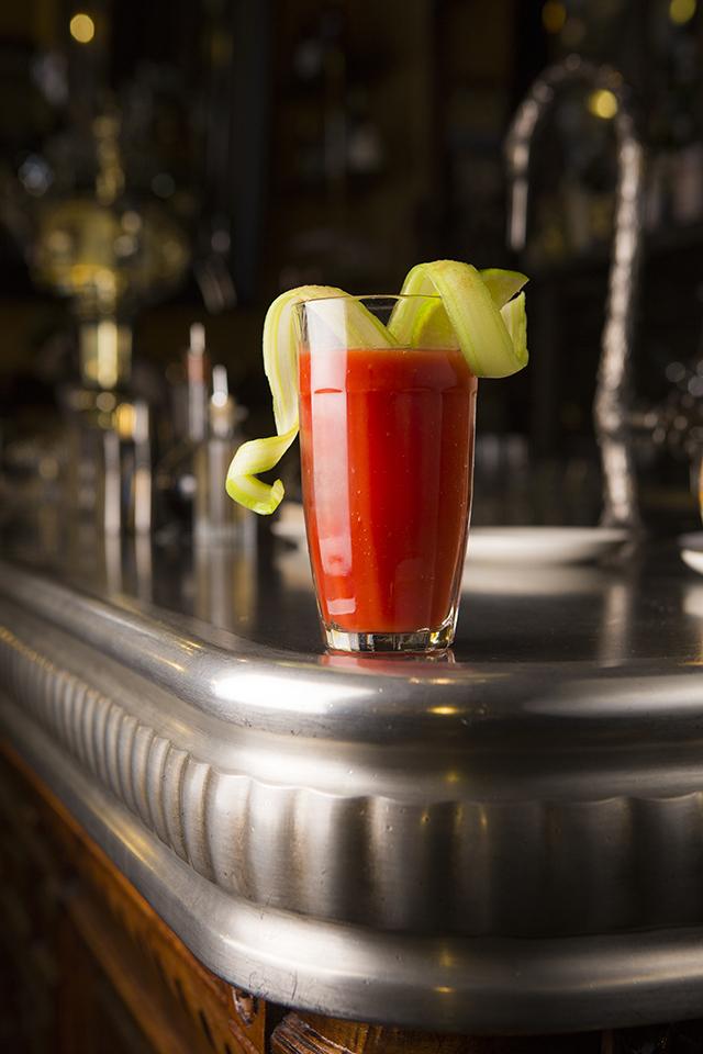 VIVA MADRID cóctel Bloody Mary Clásico (vodka, zumo de tomate y especias) @ Acción y Comunicación