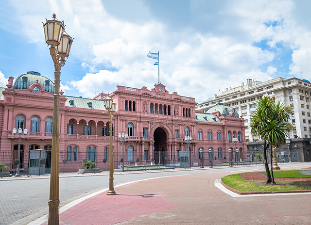 Casa Rosada (Pink House), Argentinian Presidential Palace - Buenos Aires, Argentina